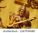 hindu religion goddess... | Shutterstock . vector #1267934080