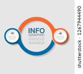 vector infographic template for ...   Shutterstock .eps vector #1267944490