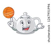 with basketball porcelain... | Shutterstock .eps vector #1267951996