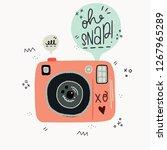 cartoon style vector... | Shutterstock .eps vector #1267965289