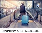 chek lap kok hong kong... | Shutterstock . vector #1268003686
