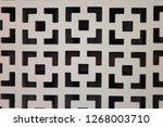 white weatherboarding textured... | Shutterstock . vector #1268003710