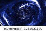 3d abstract technology... | Shutterstock . vector #1268031970