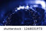 3d abstract technology... | Shutterstock . vector #1268031973