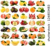 fruit on a white background   Shutterstock . vector #126803483