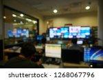 abstract blur or defocus... | Shutterstock . vector #1268067796