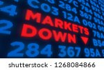 Markets Down And Stock Crisis...