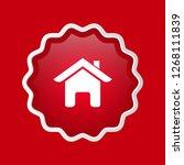home icon  emblem  label  badge ...   Shutterstock .eps vector #1268111839