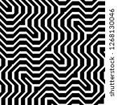 design seamless monochrome...   Shutterstock .eps vector #1268130046
