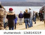 kleinfeltersville  pa  usa  ... | Shutterstock . vector #1268143219
