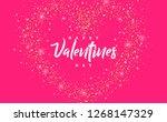 creative minimal concept design.... | Shutterstock .eps vector #1268147329