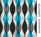 vintage blue curves seamless...   Shutterstock .eps vector #126816728