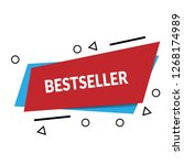 bestseller sign  emblem  label  ...