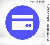 credit card vector icon 10 eps