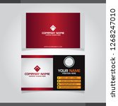 vector abstract creative... | Shutterstock .eps vector #1268247010