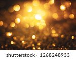 bokeh lights defocused.... | Shutterstock . vector #1268248933