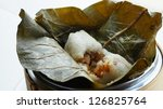 dim sum   sticky rice with...   Shutterstock . vector #126825764