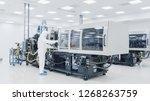 on a factory scientist in...   Shutterstock . vector #1268263759