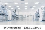 team of research scientists in...   Shutterstock . vector #1268263939
