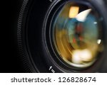 camera lens close up | Shutterstock . vector #126828674