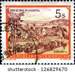 austria   circa 1984  a stamp... | Shutterstock . vector #126829670