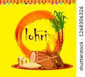illustration of punjabi... | Shutterstock .eps vector #1268306326