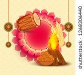 illustration of punjabi... | Shutterstock .eps vector #1268306440