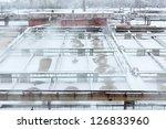 lot of aeration sewage tanks... | Shutterstock . vector #126833960