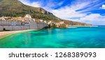 castellammare del golfo  ... | Shutterstock . vector #1268389093