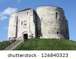 Clifford\'s Tower  York  England.