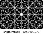 abstract geometric seamless... | Shutterstock .eps vector #1268403673