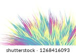 abstract colorful background... | Shutterstock .eps vector #1268416093