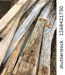 reclaimed salvage boards from... | Shutterstock . vector #1268421730