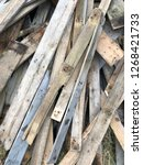 reclaimed salvage boards from... | Shutterstock . vector #1268421733