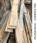 reclaimed salvage boards from... | Shutterstock . vector #1268421760