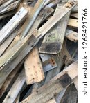 reclaimed salvage boards from... | Shutterstock . vector #1268421766