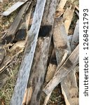reclaimed salvage boards from... | Shutterstock . vector #1268421793