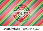 indigenous christmas colors... | Shutterstock .eps vector #1268446660