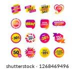 sale banner templates design.... | Shutterstock .eps vector #1268469496