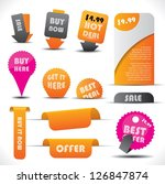 special offer and warranty... | Shutterstock . vector #126847874