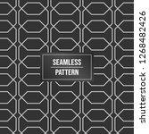 geometric pattern background.... | Shutterstock .eps vector #1268482426