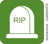 death vector icon | Shutterstock .eps vector #1268504470