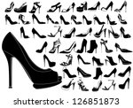 shoes | Shutterstock .eps vector #126851873