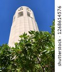 coit tower sunny day | Shutterstock . vector #1268614576
