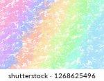gradient abstract flat color... | Shutterstock . vector #1268625496