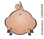 Backside Of A Pig