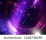purple abstract art  | Shutterstock . vector #1268738290