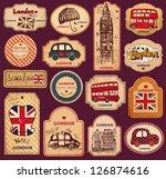 Vector Set Of Vintage Labels...