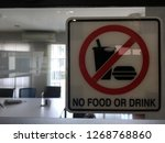 no food and drink | Shutterstock . vector #1268768860