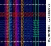 trendy checkered print for... | Shutterstock .eps vector #1268800903